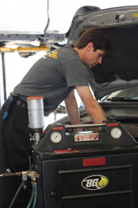 Auto repair work being done at our Northridge, CA auto repair shop